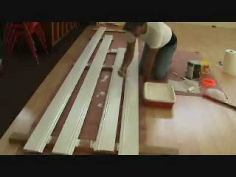 Installing baseboard: before or after painting it..
