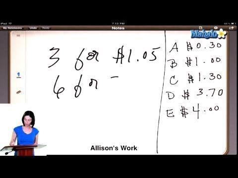 SAT Math Prep Course Question #17
