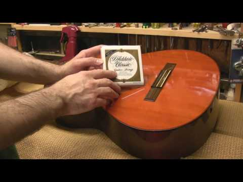 How to Change Strings on a Classical Guitar