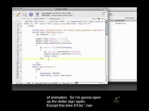 jQuery Closed Captioned - Events Part 3