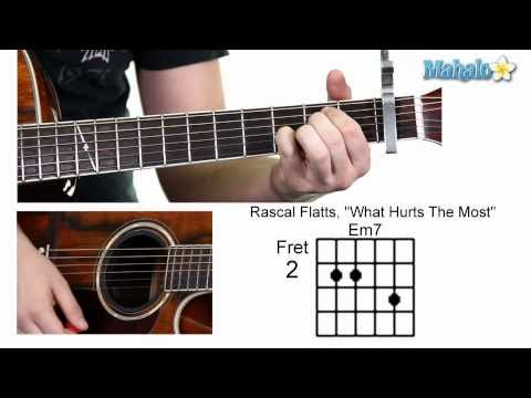 "How to Play ""What Hurts the Most"" by Rascal Flatts on Guitar (Verse)"
