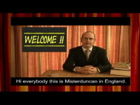 Misterduncan's English Lesson Promo (2009)