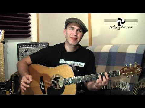 JUSTIN Method Training Exercises 4 (Guitar Lesson IM-148) How to play IF Stage 4