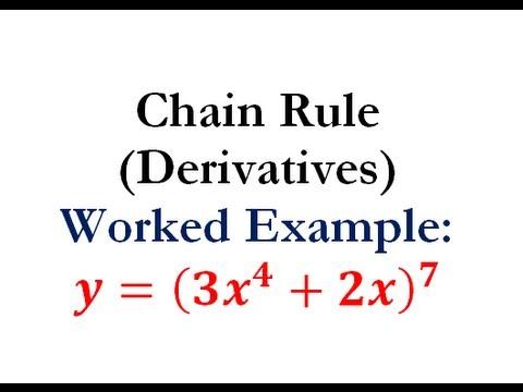 Derivatives - Chain Rule Question #2