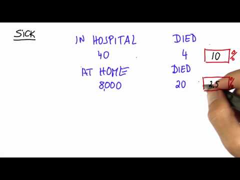 Mortality Solution - Intro to Statistics - Correlation vs Causation - Udacity