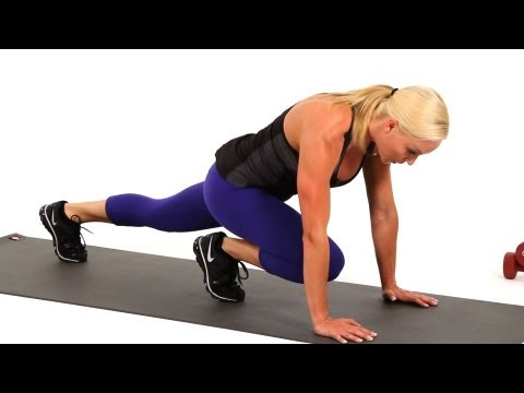 Warm Ups: Mountain Climbers and Leg Drives | Sexy Legs Workout