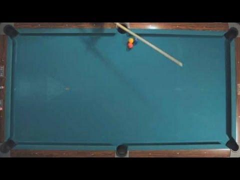 Pool Trick Shots / Beginner Shots: Photo Finish