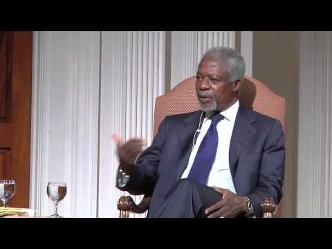 Kofi Annan: Africa's 'Big Men' Losing to Rule of Law
