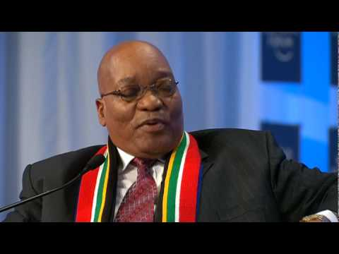 Davos Annual Meeting 2010 - Jacob Zuma A Conversation on the Future of Africa