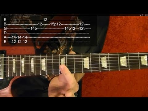 MASTER OF PUPPETS ( Guitar Lesson 4 of 9) by Metallica WIth Tabs