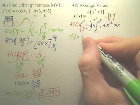 4.4 Fundamental Theorem of Calculus Practice 2b - Calculus
