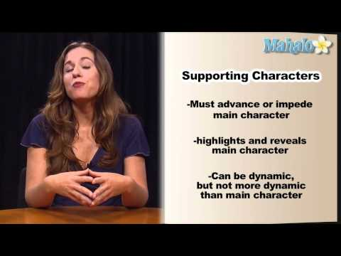 How to Publish a Novel: Supporting Characters