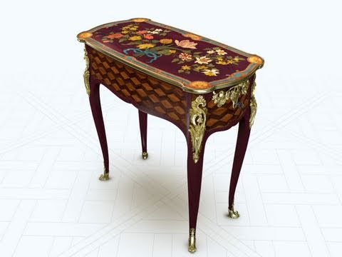 Unlocking an 18th-century French Mechanical Table