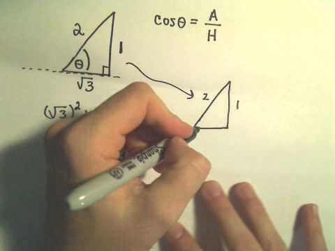 Finding an Angle Given the Value of a Trigonometric Function - Example 1