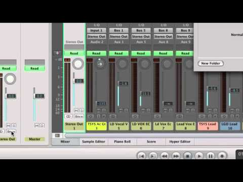Learn Logic Pro - Bouncing