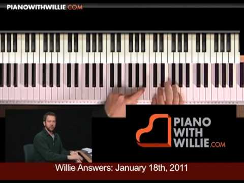 Introduction- Willie Answers: Using quartals in your improv