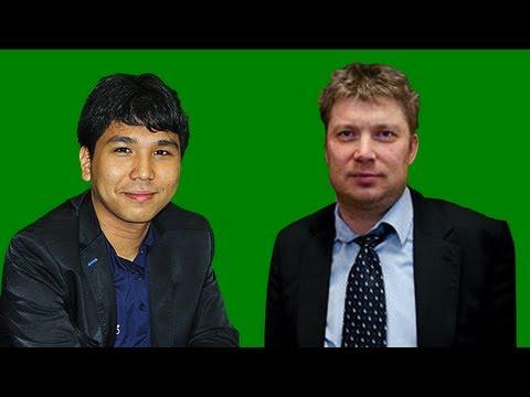 2011 Sigeman & Co Chess Tournament - Round 2: Wesley So vs. Alexei Shirov - Slav Defense