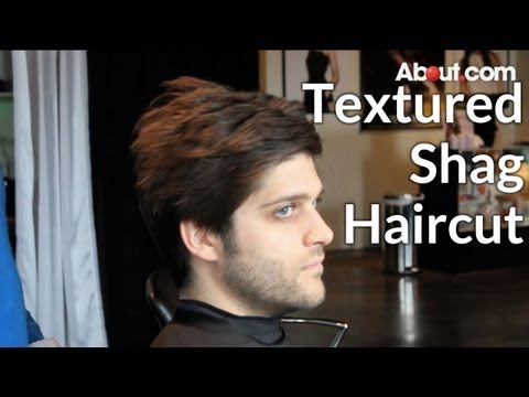 How to Get a Textured Shag Haircut for Men