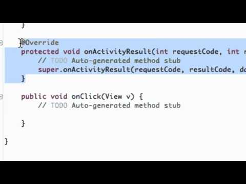 Android Application Development Tutorial - 185 - Voice Recognition