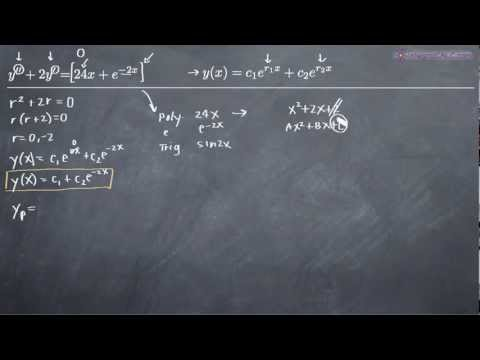 Second-Order Non-Homogeneous Differential Equations 1