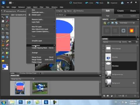 Using Layers in Photoshop Elements 10 - Part 2