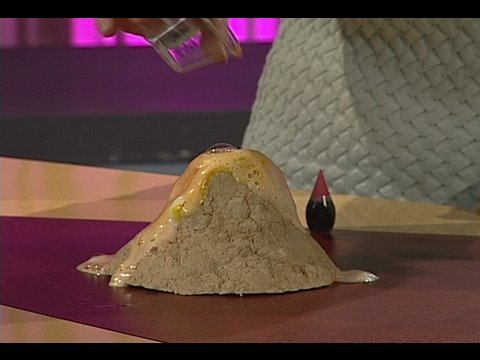 Make an Erupting Volcano with Science Bob