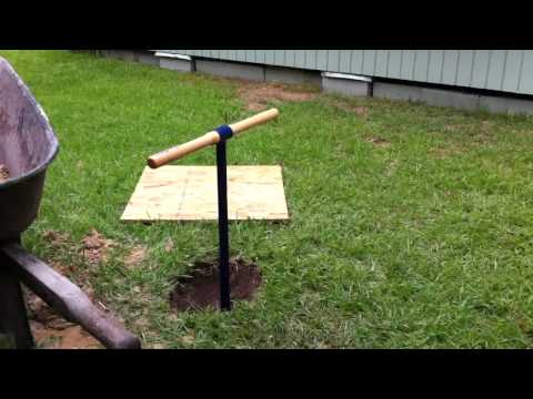 how to dig A Shallow Well part  1/3