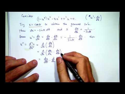 How to solve Chebyshev's equation