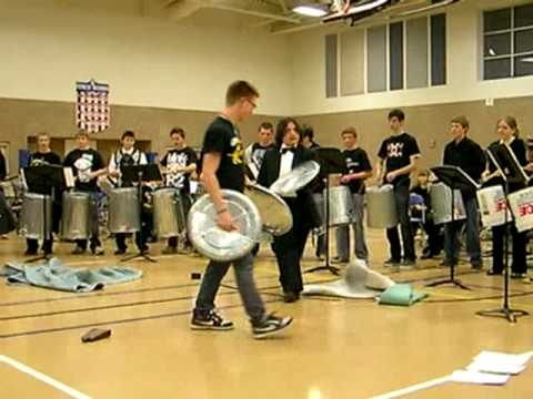 Green Mountain High School Stomp Band