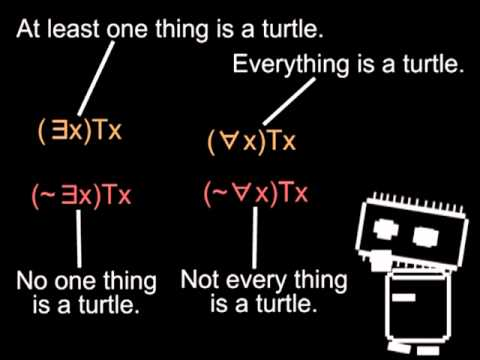 Logic & Language - quantifiers & bound variables (Logic 3 of 5)