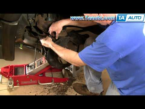How To Install Replace Wheel Hub Bearing Chevy GMC S-10 S15 4x4 Part 2 1AAuto.com