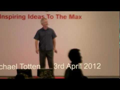 TEDxSingapore - Michael Totten - Let us build a more sustainable future