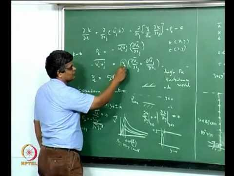 Mod-06 Lec-39 Calculation of near-wall region in turbulent flow; wall function approach
