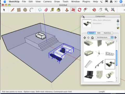 SketchUp: I can't move my component the way I want