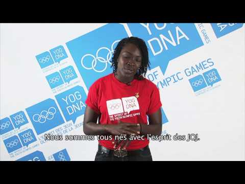 Young Ambassador - Trinidad and Tobago - Kwanieze John - Singapore 2010 Youth Olympic Games