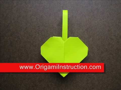 How to Fold Origami Heart Basket - OrigamiInstruction.com
