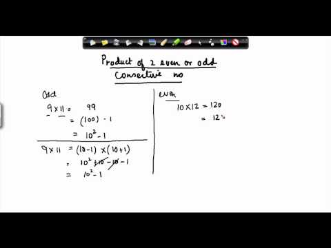 133-product of two consecutive even or odd numbers