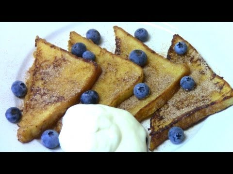 Sweet Cinnamon French Toast - RECIPE