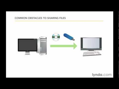 Exploring common file sharing obstacles | lynda.com tutorial