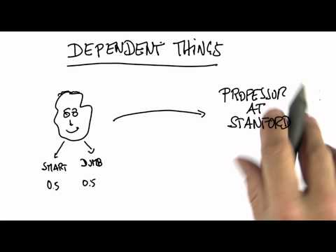 Dependent Things - Intro to Statistics - Conditional Probability - Udacity