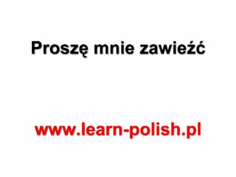 Basic Survival Polish. Lesson 9. Pools Leren Op School