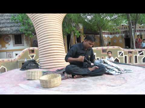 MOMENTS OF INDIA 38 (Magician at the Chokhi Dhani)