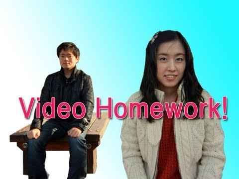 Korean Video Homework - Face Parts in Korean
