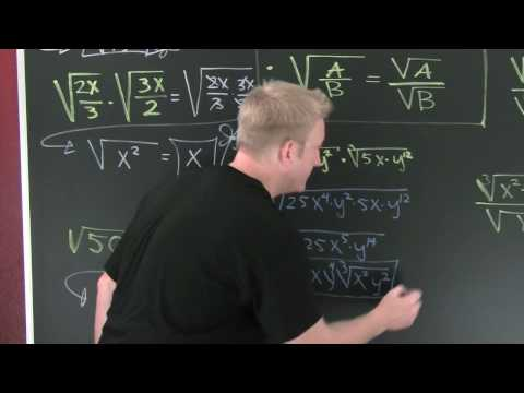 Product and Quotient Rule for Radicals.mov