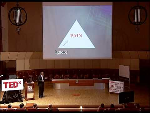 Your pain - your leadership: Jacek Skrzypczynski at TEDxWroclaw