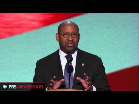 Philadelphia Mayor Michael Nutter: Responsibility Is What 'Being President Is All About'