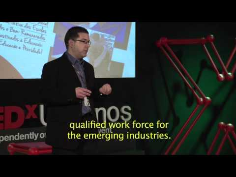 Courses of education in South Korea: Soleiman Dias at TEDxUnisinos