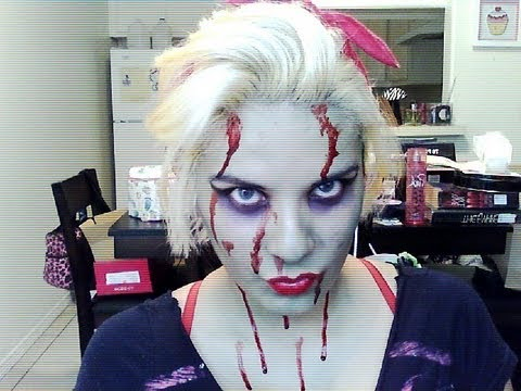 Halloween Series: Zombie Pin Up Tutorial