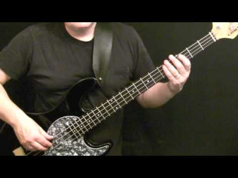 Motown Style Grooves For Bass Guitar #9 - James Jamerson