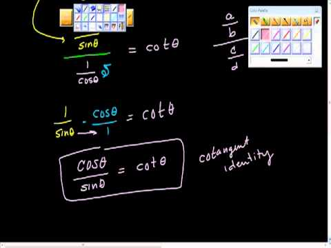 Proving Trigonometric Identities (verifying) Precalculus.mp4